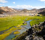 Landmannalaugar in the Highlands of Iceland is known to be dotted with ancient and natural hot springs.