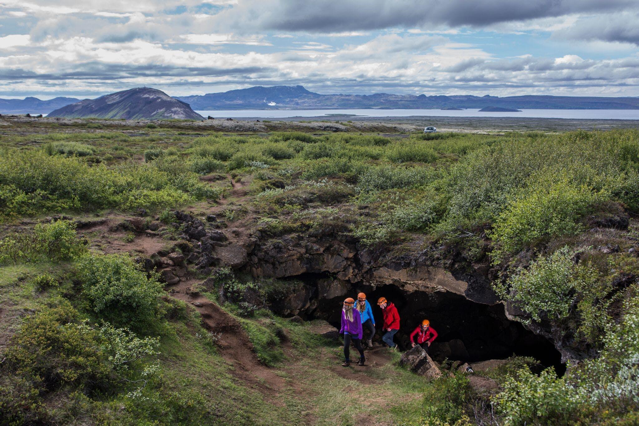 Golden Circle & Lava Caving Small Group Adventure