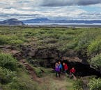 Iceland has numerous hidden cave networks dotted across the landscape.