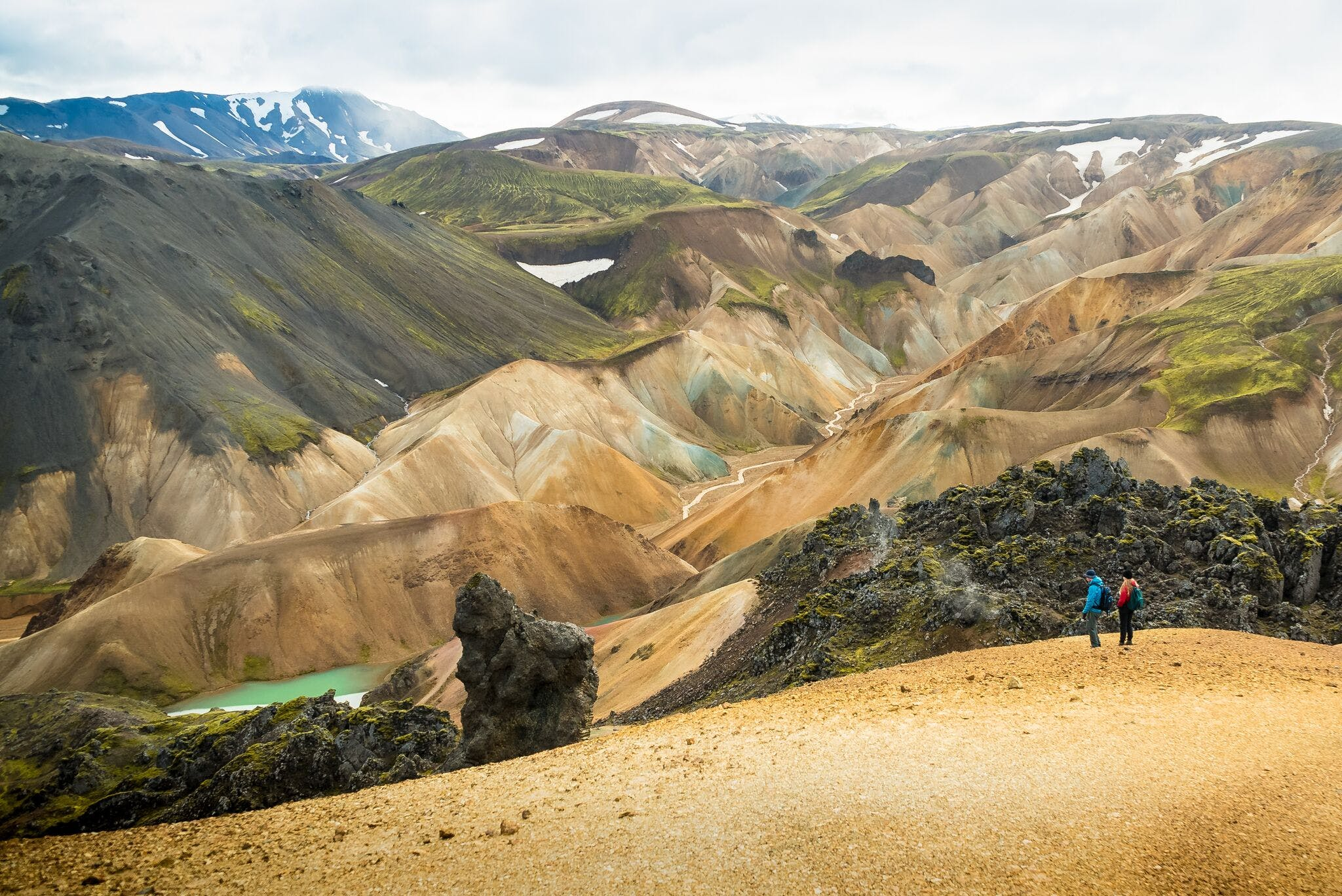 Landmannalaugar Hiking & Hot Spring Tour