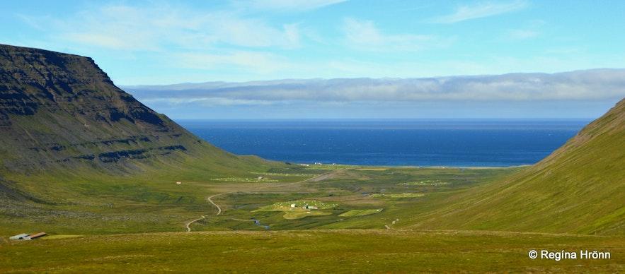 The view of Ingjaldssandur