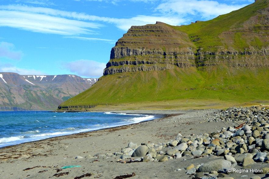 Ingjaldssandur in the Westfjords of Iceland