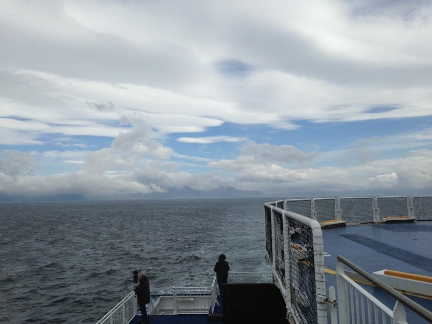 IJsland in zicht