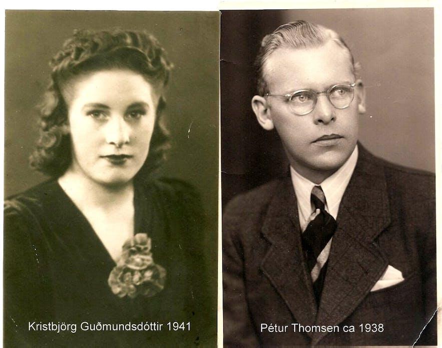 Photo of Regína's grandparents