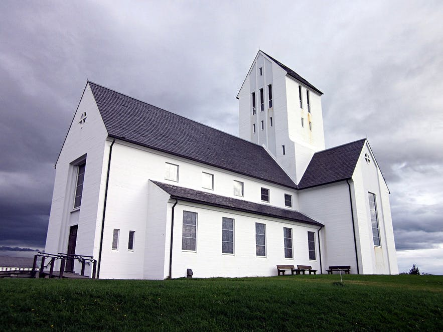Skáholt was one of two Episcopal Sees, where power was concentrated when the country was Catholic.