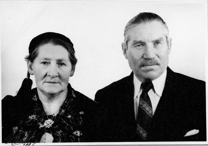 Regína's great grandparents from Ingjaldssandur