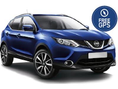 Nissan Qashqai 4x4 (FREE GPS) 2018