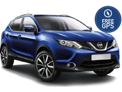 Nissan Qashqai 4x4 (GPS gratuit) 2018