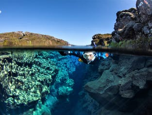 Snorkelling & Lava Caving Adventure From Reykjavik