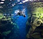二つの大陸の間を泳げるのは世界でもシルフラの泉だけ