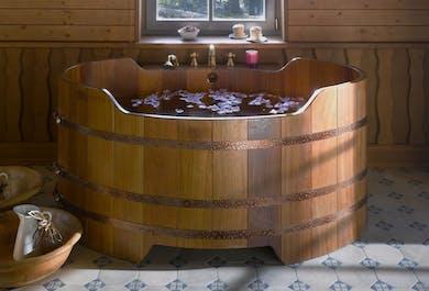 Se baigner au spa de bière Bjorbodin | Nord de l'Islande