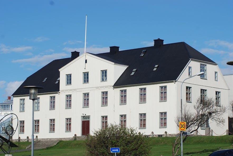 La plus vieille école en Islande : Menntaskóllin í Reykjavik.