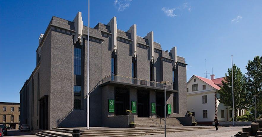 Iceland's National Theatre on Hverisgata