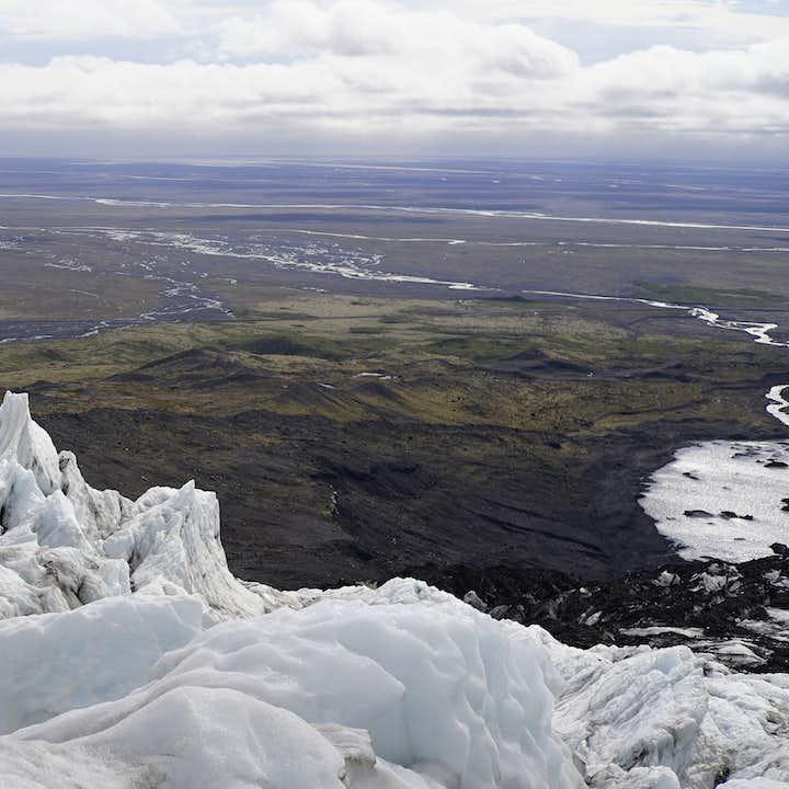 4-godzinna wycieczka Super Jeepem i 3-godzinna wycieczka piesza po lodowcu Falljokull przy Skaftafell