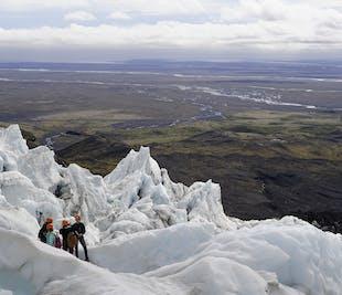 Eksplorowanie lodowca   Wędrówka w Skaftafell