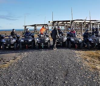 Lava ATV Tour from Thorlakshofn