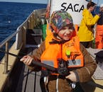 Kids will be provided with life jackets once aboard, ensuring their safety throughout the tour.