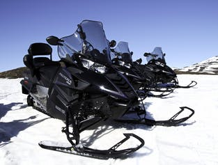 Short Snowmobile Tour from Lake Myvatn