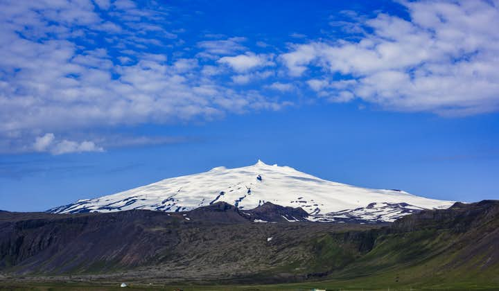 The one and only Snæfellsjökull glacier volcano is the jewel in the Snæfellsnes Peninsula crown.