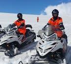 Snowmobile Adventure | Golden Circle and Langjokull Snowmobiling
