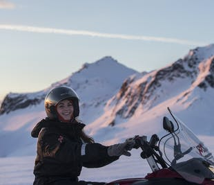Snowmobile Adventure | Golden Circle and Langjokull Snowmobiling