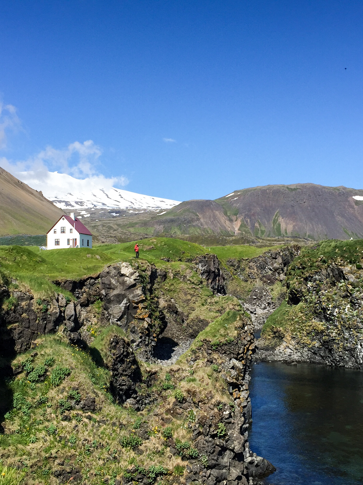 Snæfellsjökull will be an ever present sight during your time on the peninsula.