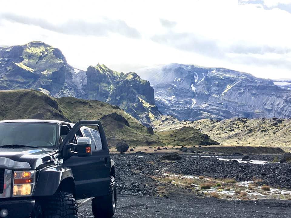 Þorsmork Valley, Waterfalls and South Coast Glaciers