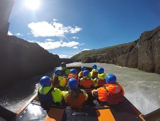 The Golden Circle and Hvítá River Jet Boat Tour