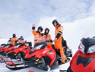 Glacier Snowmobiling Tour   Meet on Location Langjokull