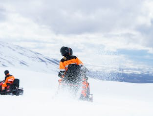 Glacier Snowmobiling Tour | Meet on Location Langjokull