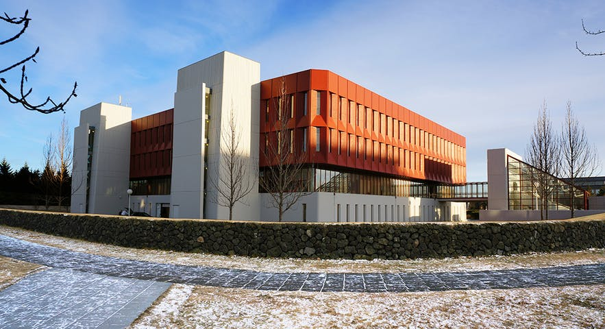 The National and University Library of Iceland.