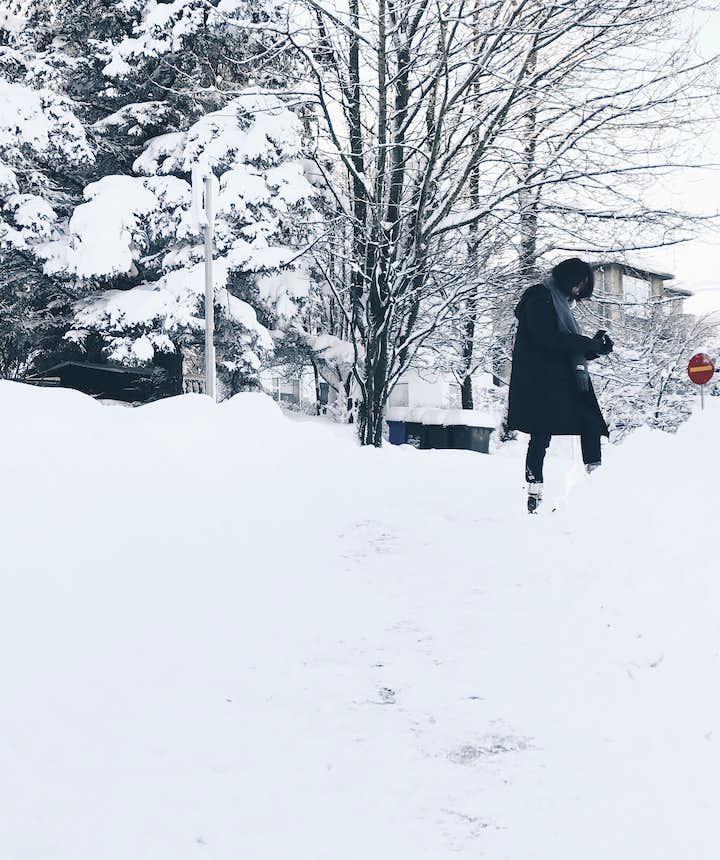 冰島冬季積雪