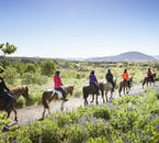 A summer trail from the Greater Reykjavík Area towards the Reykjanes Peninsula is best enjoyed on horseback.