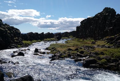 Thingvellir National Park |  Private Day Tour in a new Mercedes Benz V-class luxury minivan