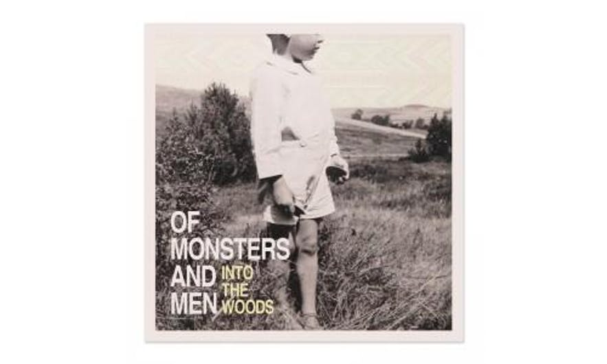 The EP cover for 'Into The Woods' (2011)