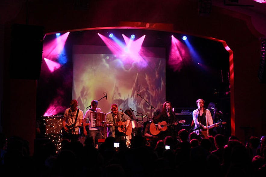 Of Monsters and Men performing live, October 14, 2011