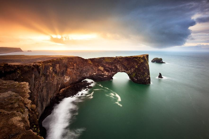 冰島南部 Dyrhólaey