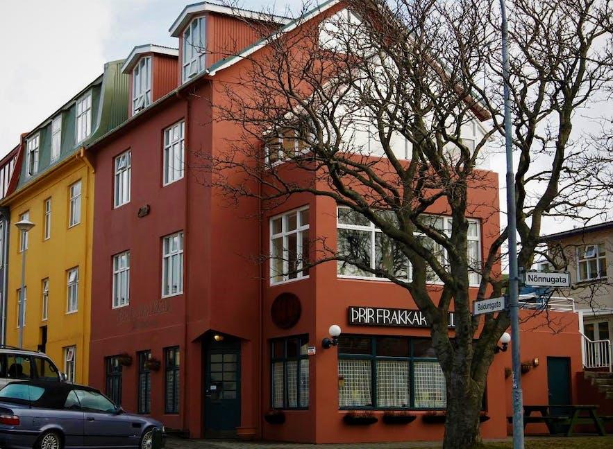 Niezwykła restauracja w Reykjaviku.
