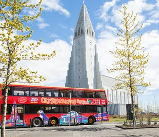 Hop On - Hop Off | Autobús turístico de Reikiavik