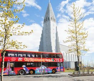 Hop On - Hop Off   Autobús turístico de Reikiavik