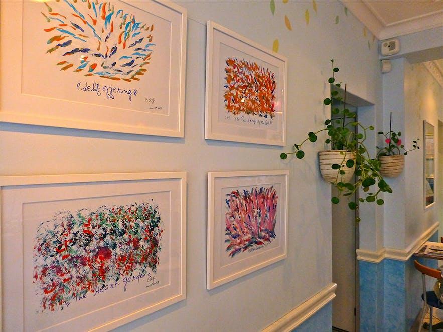 Heart Garden artworks