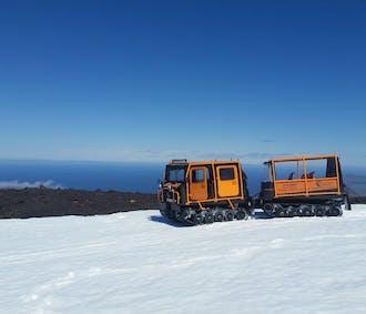 К брильянтовым вершинам | Тур на джипе и вездеходе на ледник Снайфедльсйёкюдль