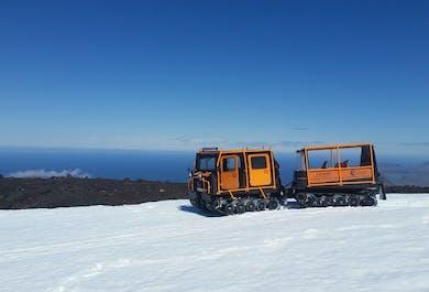 Tour auf den Snaefellsjökull-Gletscher   Superjeep & Pistenraupe