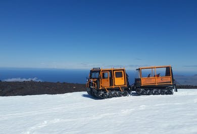 The Top of the Diamond | Jeep and Snow Buggies on Snaefellsjokull Glacier