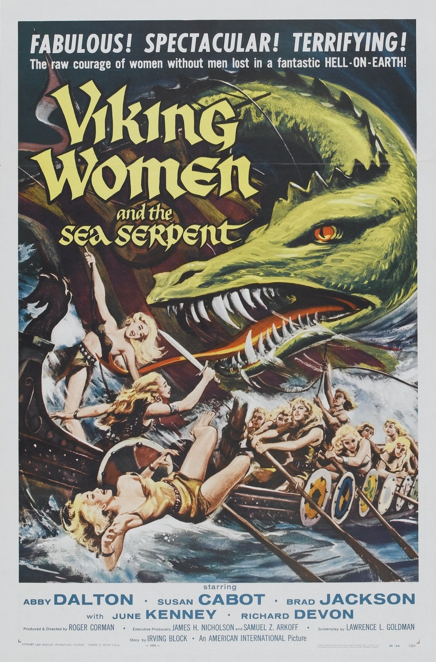 An inaccurate depiction of women during the Viking era.