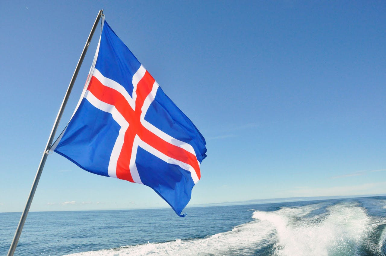 Image result for iceland flag