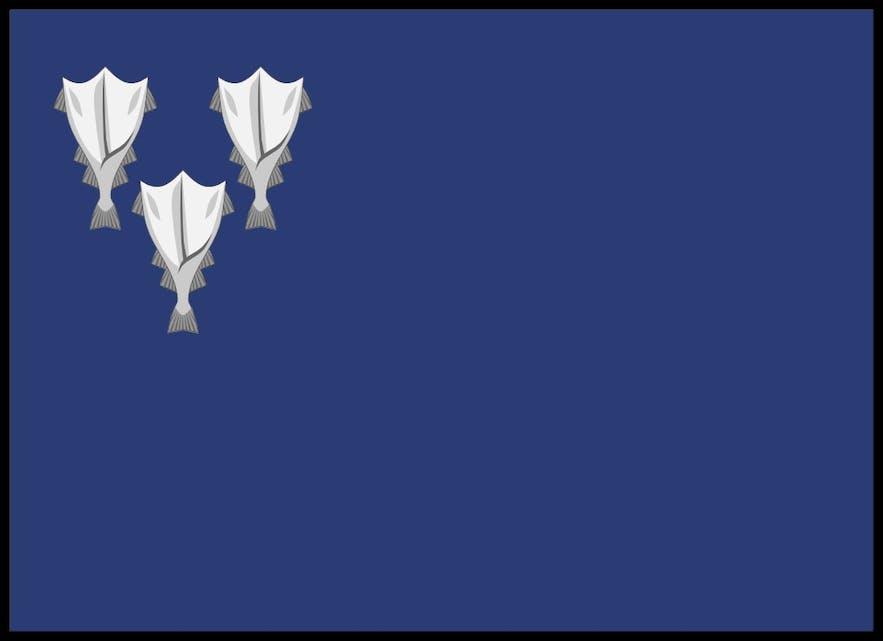 Jørgen Jørgensen's Stockfish Flag Design.