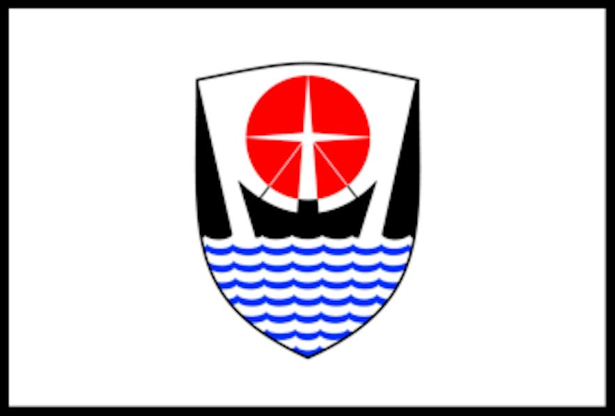 The Flag of Isafjarðarbær