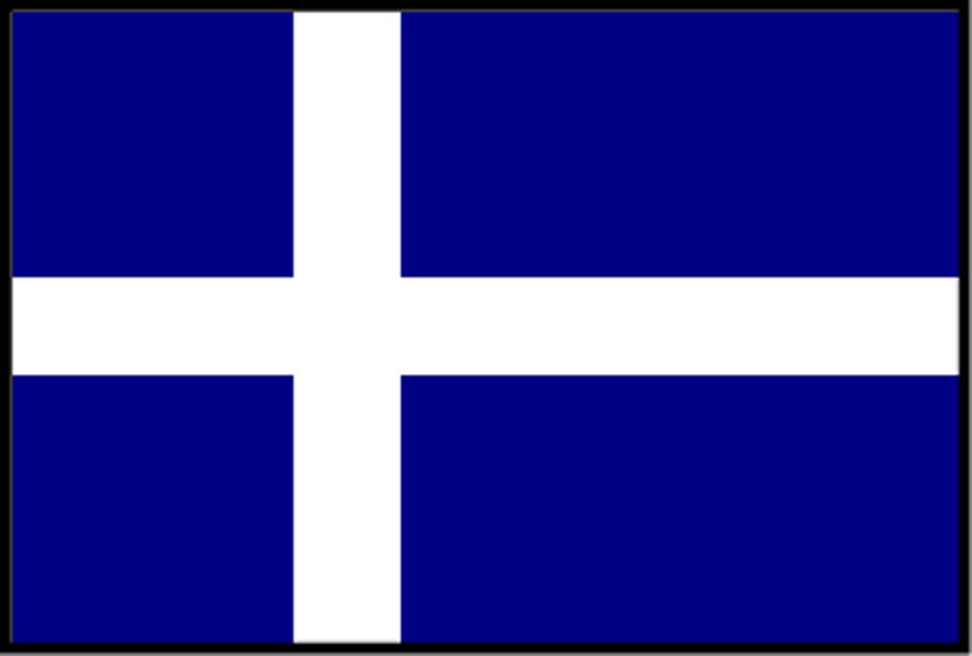 Einar Bendiktsson's flag design. This was highly popular in Iceland at the time.