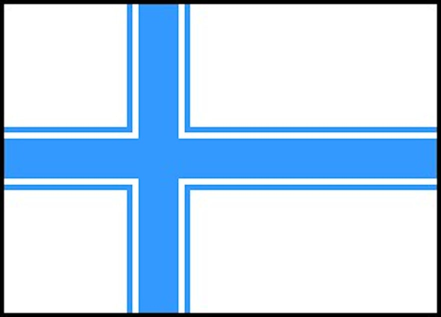 One of the flag designs proposed by 1914 committee.
